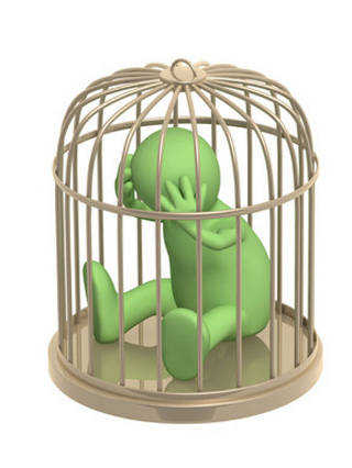 Fear is a prison cell